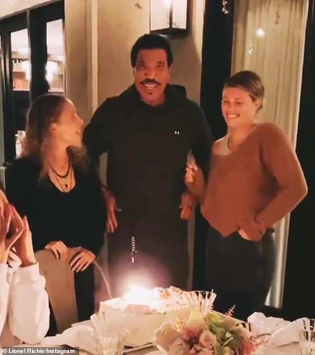Thanks, Daddy! Four-time Grammy winner Lionel Richie (M, pictured October 2) adopted Nicole when she was 9 from Michael Escovedo and Karen Moss, and Sofia is his youngest daughter with ex-wife #2 Diane Alexander