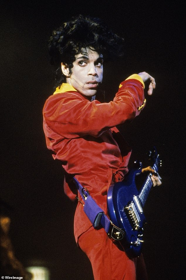Icon: Prince (pictured in 1991) died aged 57 from an accidental fentanyl overdose on April 21, 2016