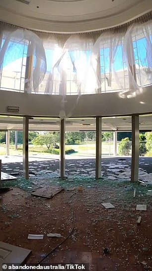 A group of urban explorers captured eerie footage of an abandoned mansion in Australia