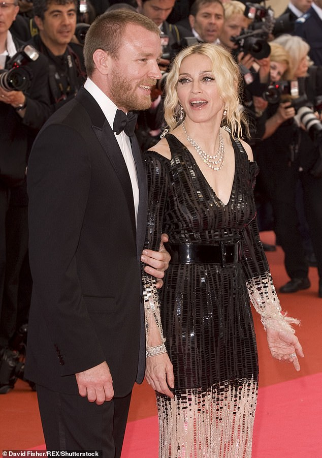 Family: Rocco is the son of Madonna and Guy Ritchie (pictured in 2008), in 2016 the filmmaker won a bitter nine month custody battle over where their son should live