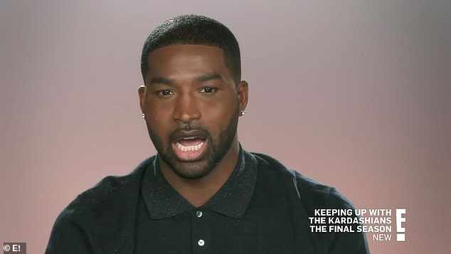 Copying style:'I got the play, I got the recipe,' Tristan Thompson told the cameras, as he snapped the fresh flowers he sent Khloé weekly. 'I mean, just make her happy'