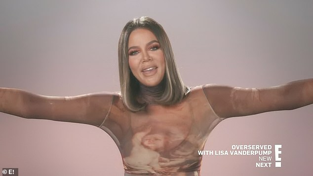Expansion plans:'I mean, I love, love, love my current home,' Khloé told the cameras. 'I'm only moving because the expansion I wanted to do on my current home I am unable to do for a slew of reasons'
