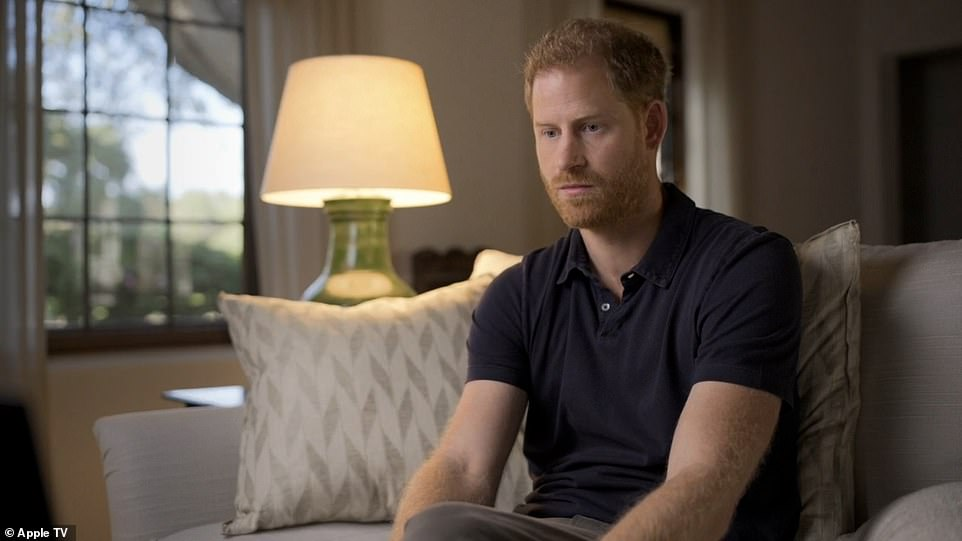 Prince Harrywas filmed having a form of therapy known as EMDR (Eye Movement Desensitisation and Reprocessing)
