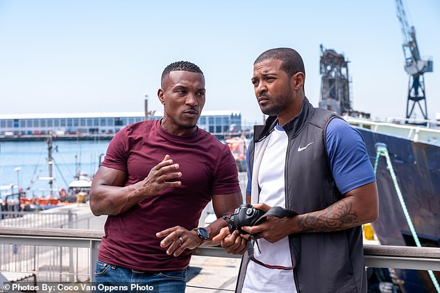 Response:Bulletproof actor Ashley Walters (L) recently said he was 'deeply saddened' by the allegations made against Clarke in a lengthy statement posted to Twitter