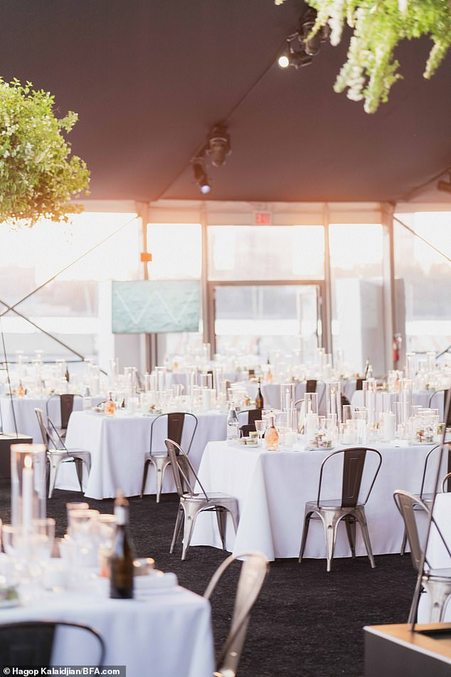 The Whitney Museum of American Art's Spring Celebration Dinner took place on Tuesday, May 18th at the Gansevoort Peninsula in Hudson River Park, across the street from the museum