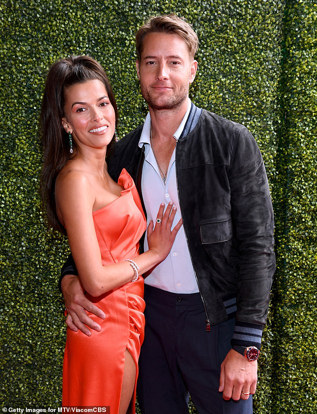 Just married!Chrishelle's love life has been a talking point yet again, after it was revealed her ex Hartley married his girlfriend of less than a year Sofia Pernas and they flashed their wedding rings over the weekend at the MTV Movie & TV Awards; pictured May 16