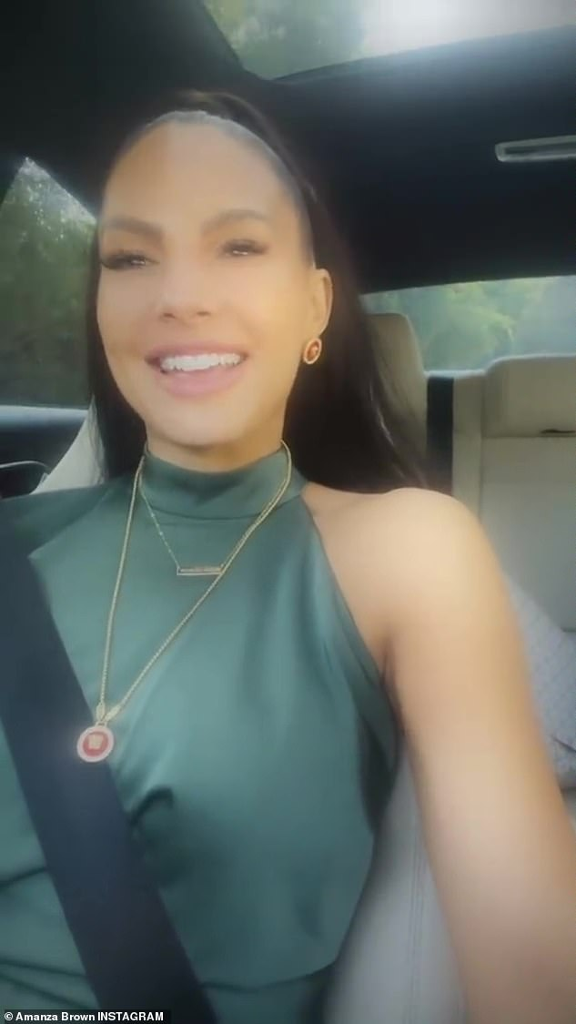 Details: The reality star shared a close up of her outfit while sitting in traffic