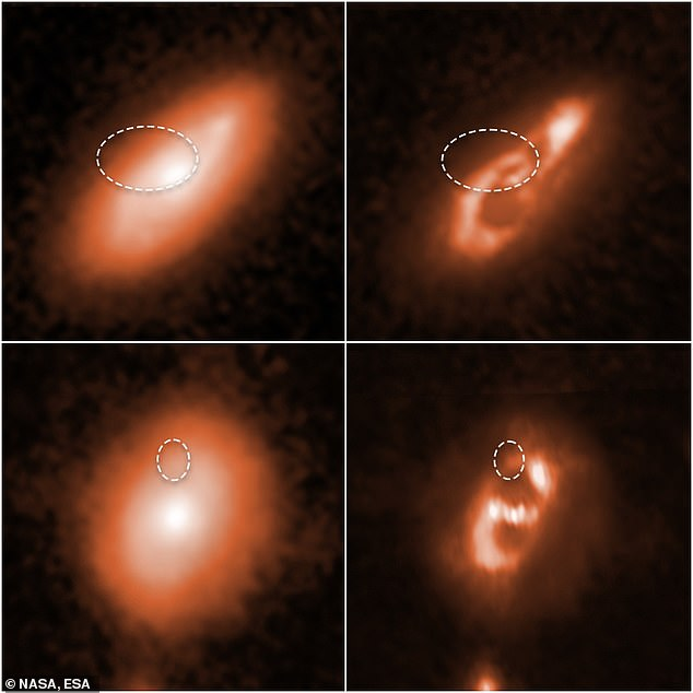 NASA's Hubble Space Telescope tracked down the origins of several fast radio bursts to galaxies ranging between 400 million and 9 billion light-years from Earth in 'spiral galaxies'