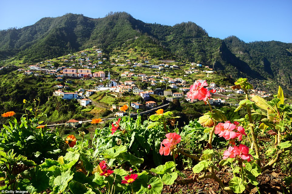 Verdant: Madeira is famous for its fragrant flowers and sweeping views.Until last year, it was welcoming more than a million tourists annually