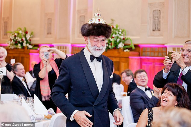 The Queen's cousin, Prince Michael of Kent (pictured), is an adviser and shareholder in a business run by a former senior officer in the KGB, the Soviet Union's security service