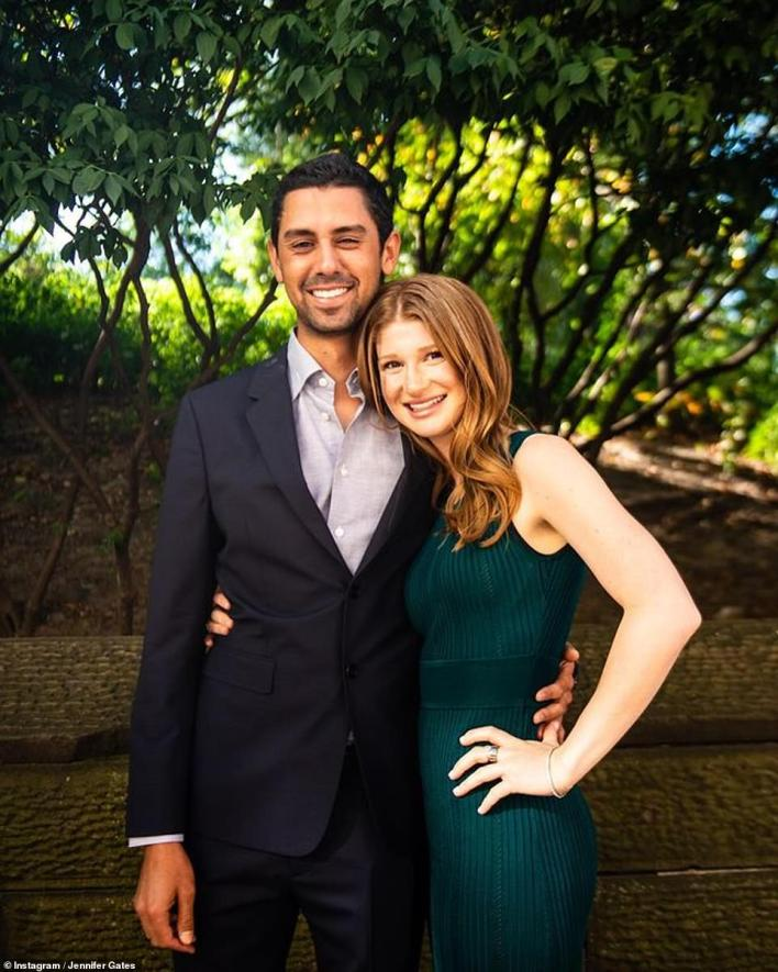 Romance just beginning: Jennifer is engaged to Egyptian show jumper Nayel Nassar. The pair announced their engagement in January of 2020
