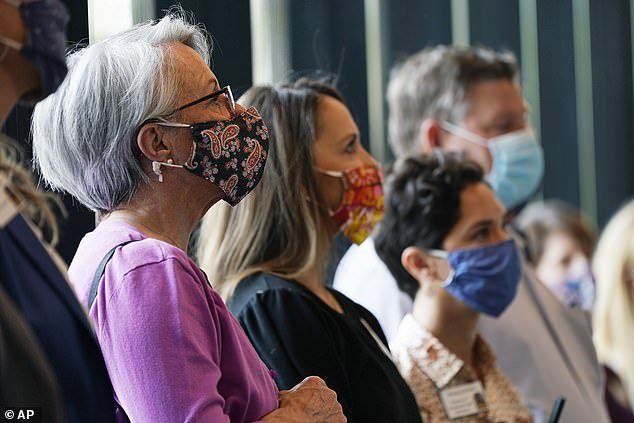 The CDC released guidance last week allowing for fully vaccinated Americans to safely remove their masks in a majority of indoor settings.