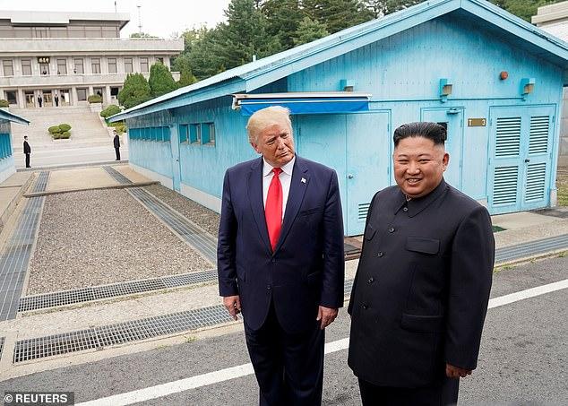 Donald Trump met Kim Jong-un three times, and Biden accused him of giving Kim prestige
