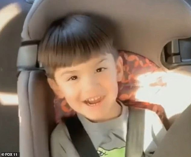 Six-year-old Aiden Leos was killed by a bullet while riding in the back of his mother's Chevy sedan on Friday morning