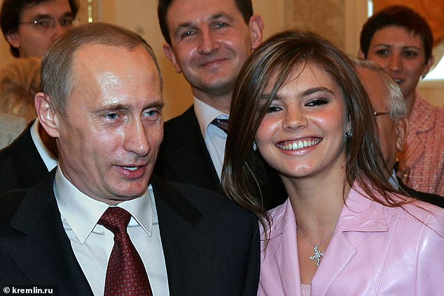 The famous Olympic gold medal (pictured with Vladimir Putin) winning rhythmic gymnast has not been seen since rumours she gave birth to twin boys in a Moscow hospital