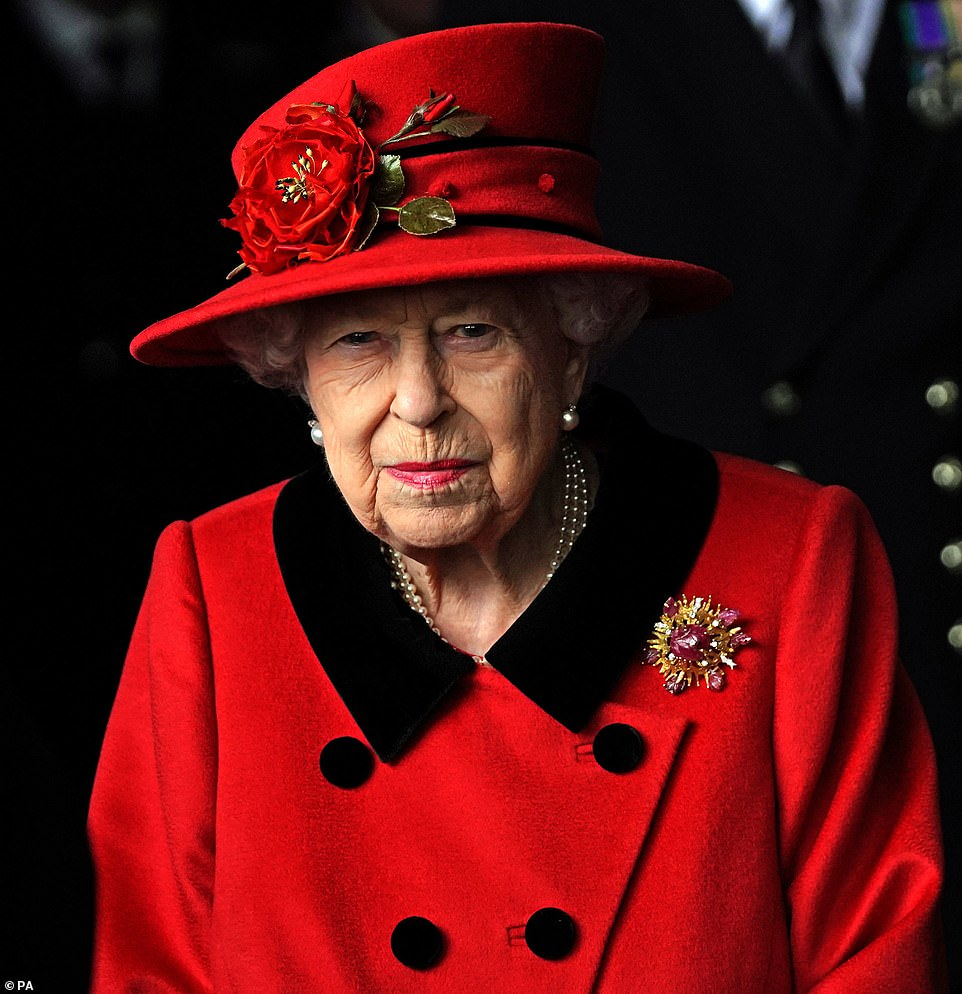 The Queen has been welcomed on board Royal Navy flagship HMS Queen Elizabeth ahead of its operational deployment to the Indo-Pacific region