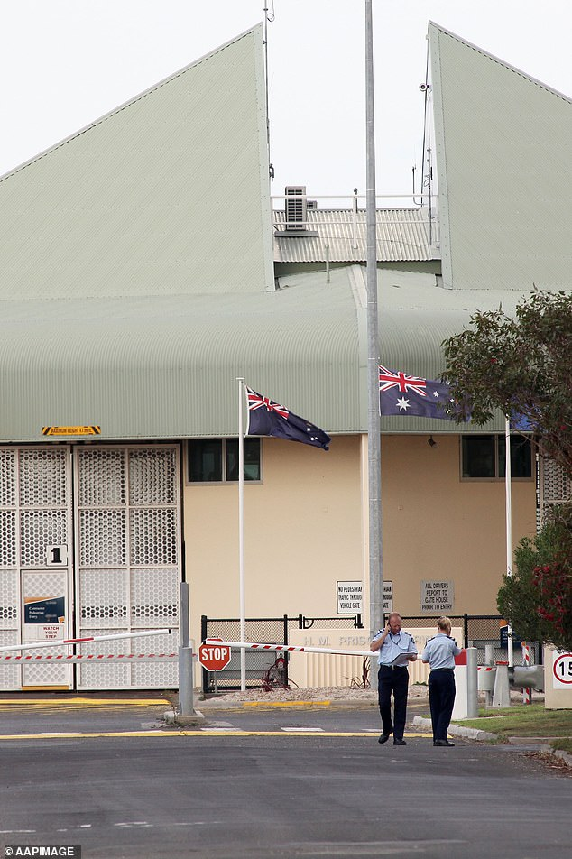 Pell has spent time in some of Victoria's most dangerous prisons, including Barwon Prison near Geelong (pictured)