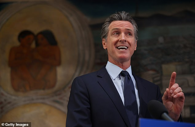 The recall movement against Democratic California Governor Gavin Newsom (pictured) has mostly centered around his handling of the pandemic