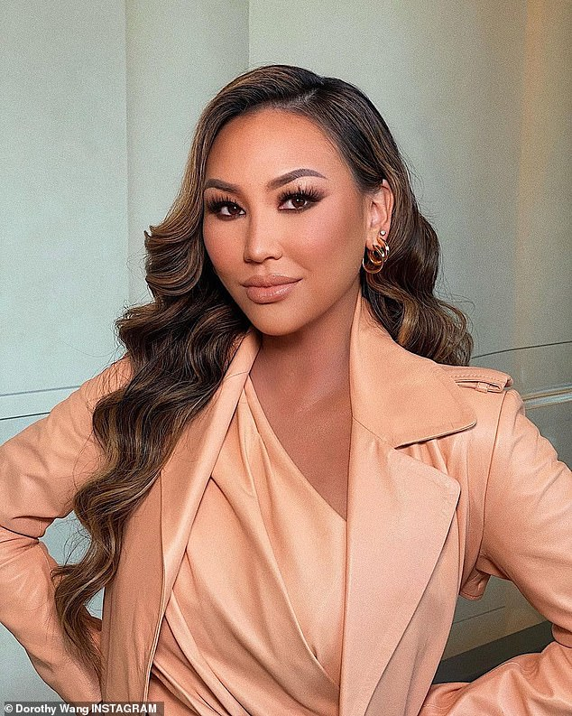 Rich Kid all grown up:Dorothy Wang might be graduating to the more adult series Bling Empire, which concentrates on filthy rich Asian American adults; seen recently on Instagram