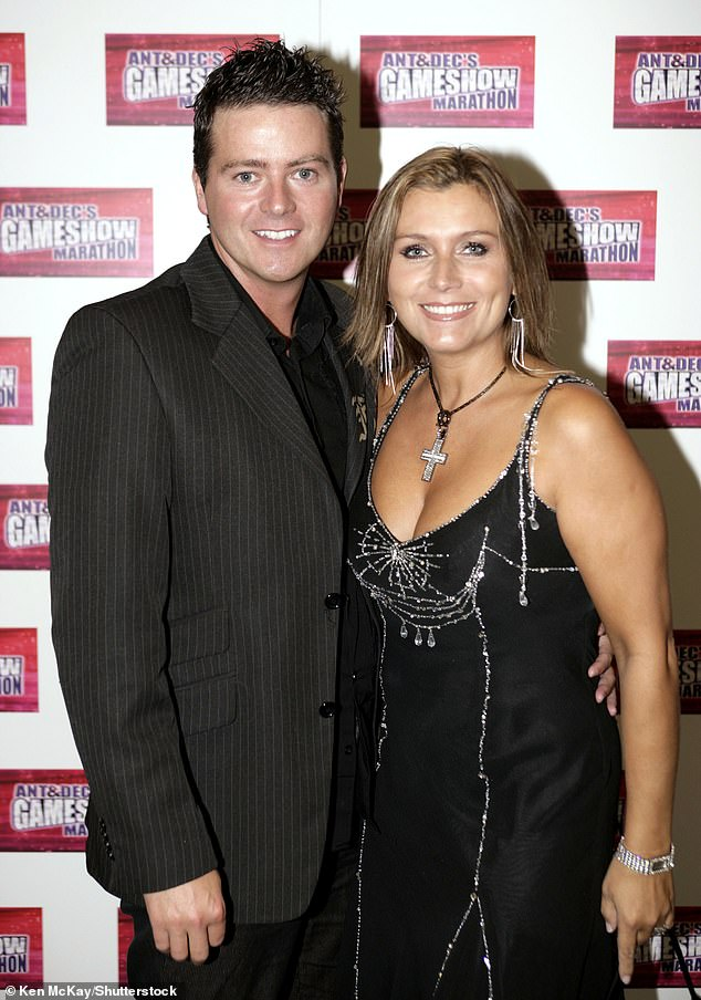 Ended: A source said the couple decided to split after 'growing apart' (pictured in 2005)