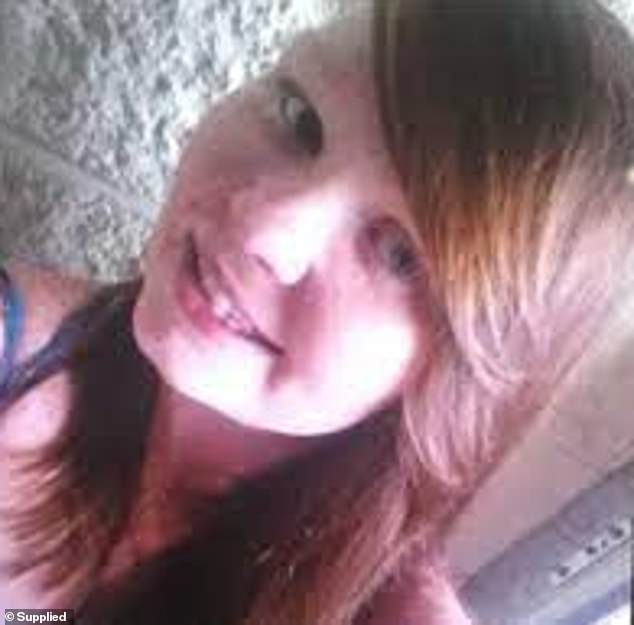 Police revealed the offender was a person known to Ms Golding, and confirmed they had recovered a large hunting knife they believe was used in the attack