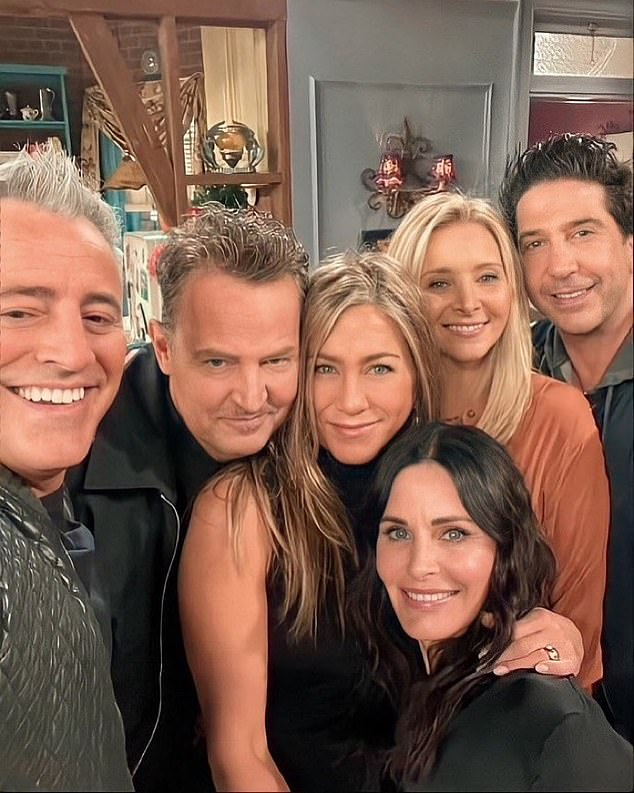 Soon: Matt will next be seen in HBO's upcoming Friends: The Reunionon Thursday, May 27th