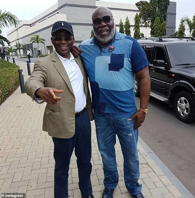 Mr Masiyiwa shared a picture of himself with an American bishop, author and filmmaker T.D Jakes in Ghana in 2018