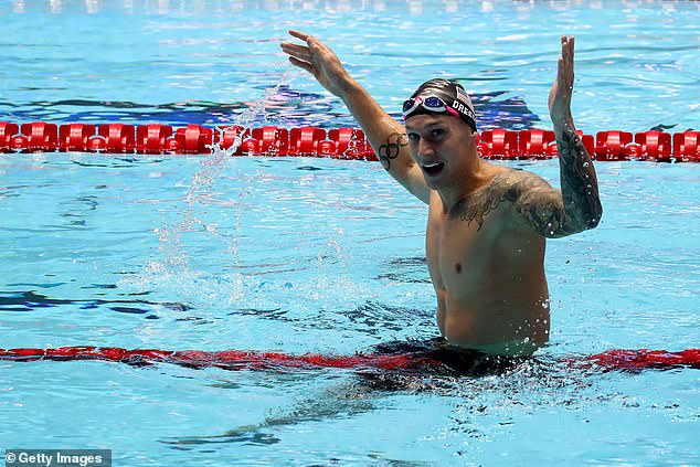 Caeleb Dressel is seen by many as the heir to Michael Phelps, who won 23 Olympic gold medals