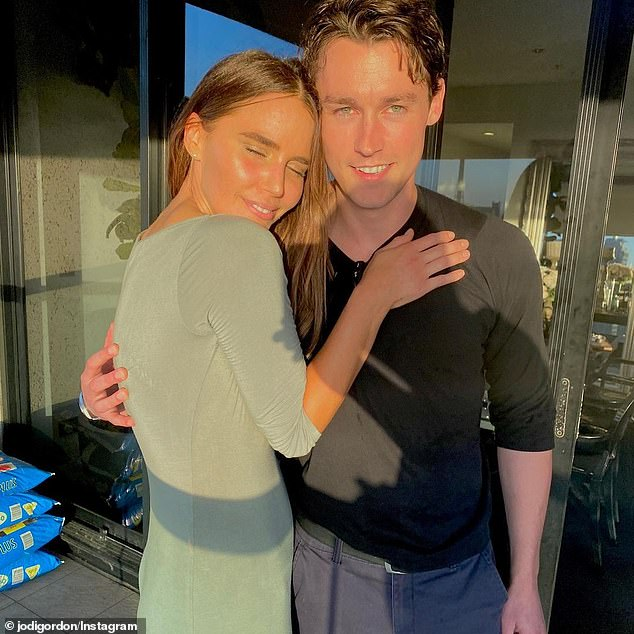Romance:The Sunday Telegraph reported last month that Jodi had quietly split from her boyfriend Sebastian Blackler [both pictured], after just six months of dating.