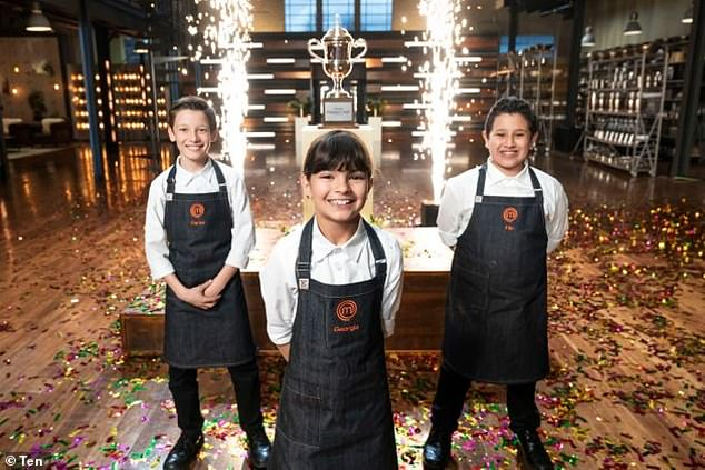 Making a comeback: A report by The Australian on Monday revealed the network was looking to revive Celebrity MasterChef after last year's Junior MasterChef delivered poor ratings