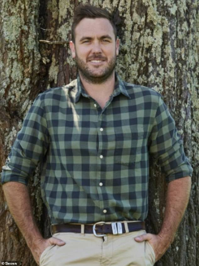Romance:Love has blossomed on the set of Farmer Wants A Wife, a new report claims. The new season of the romantic reality show will see sheep farmer Andrew Guthrie (pictured) fall 'head over heels' for one of his three finalists