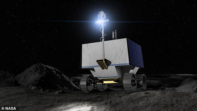 NASA has revealed plans to send a rover to the Moon in 2023 to scout out potential landing sites for a crewed Artemis mission a year later and find sources of water