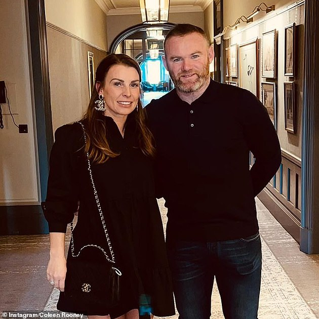 Dinner date:It comes after MailOnline revealed that Wayne and Coleen are finally set to move into their £20million mansion, ending four troubled years of delays and planning rows - and they celebrated with a date night (pictured last week)