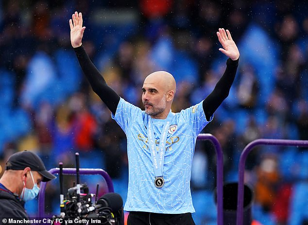 Pep Guardiola may have led City to another title but he will be hungry for further success