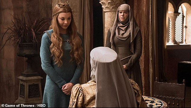 In character:The actress, 46, played Unella, a Septaof the Faith of the Seven and was tortured by Cersei Lannister (Lena Headey) in season six