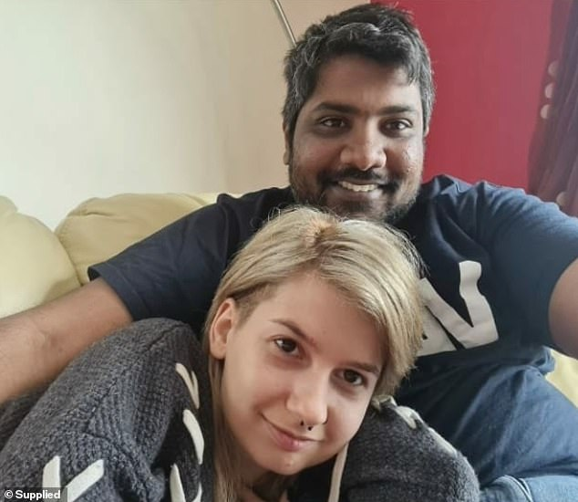 Steve Silva, also known as Selva, says he is a former lover of Emese Fajk - who picked up her belongings in Australia and moved to Madeira, a paradise island off the coast of Portugal, in February. She denies having 'fled' Australia