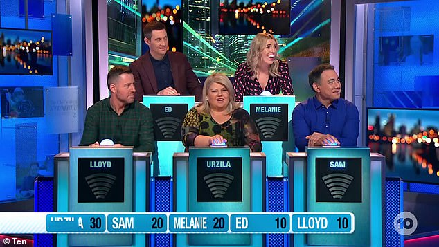 Royal mockery: Princess Beatrice was savagely mocked for her appearance by Australian comedians on Monday's episode of Have You Been Paying Attention?