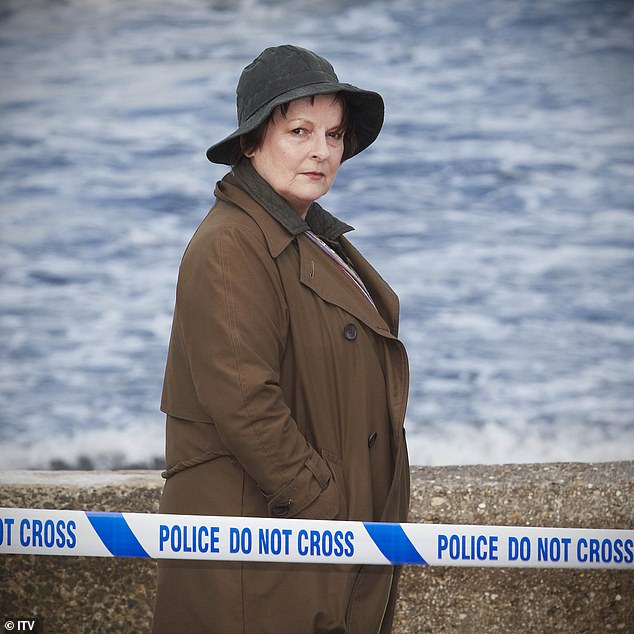 In the mix:Brenda Blethyn features in the Drama Performance for her role as crime-solving Vera