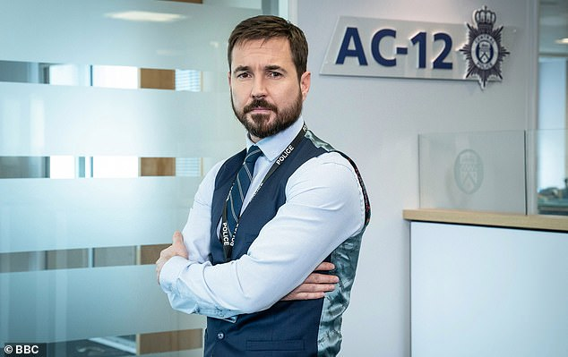 Popular: Line Of Duty is among a host of hit shows to feature on the long-list for this year's National Television Awards