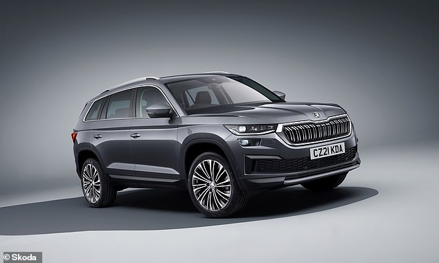 The Kodiaq is one of the few large SUVs to offer not just seven seats but a petrol engine