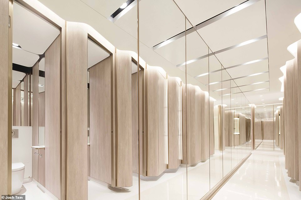 """AQUA FUTURA OFFICE RESTROOMS: 'Office design has been subjected to a lot of innovative improvements in the past 100 years no less, but what about office hygiene, especially restrooms and toilets?' asks Wong. 'It seems time has finally arrived for a major revamp in changing the nature of office hygiene in a dramatic way with real innovations in design. Call this """"Restroom Reinvention"""", """"Toilet Revolution"""", or better still, why not call this """"Aqua Futura""""?'"""