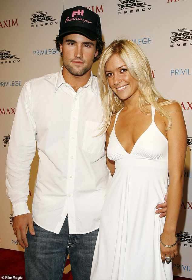 The way she was: With Brody Jenner during Celebrate Extreme Sports With Maxim Magazine at Maxim in Los Angeles in 2006