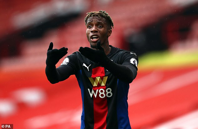 Wilfried Zaha has reportedly informed Crystal Palace of his desire to leave this summer