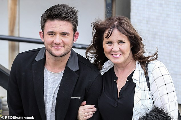 Her boy:During the pandemic, Shane hilariously vented over Loose Women being filmed remotely, meaning Coleen's kitchen would be overtaken (pictured in 2016)