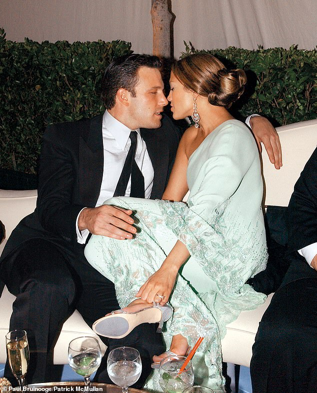 Bennifer is back: It's been 17 years since the couple first dated and now they're enjoying time together all over the country, with rendezvous in Los Angeles, Montana and most recently Miami. They are seen here in 2003