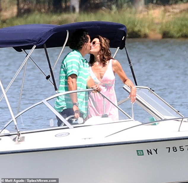 Love on the high seas! The two seemed completely smitten after meeting months ago