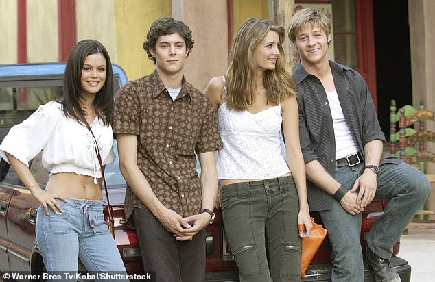 Over it: 'They just didn't want to be doing the show anymore. It was pretty tough; they were very tough to work with,' Tate said at the time of stars Bilson, Adam Brody, Mischa Barton and Ben McKenzie