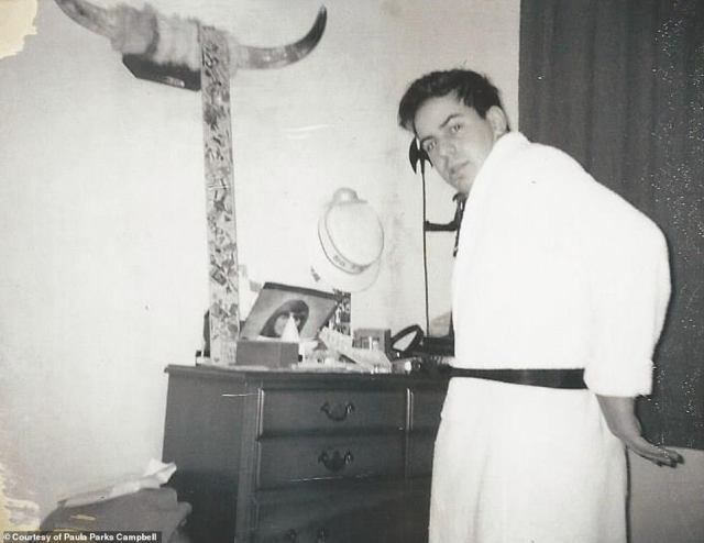 'My parents did what any good-hearted Southern Christian family would do. They opened the door and gave him a room in the house. By the time I heard about this, mamma was cooking his meals and cleaning up after him!' Parks told Logan. 'They had even cut him a set of keys to the house!' After Abagnale moved out of the Parks house, above, local police soon arrested him on February 14, 1969. He then admitted to taking a check from the Parks, forging John's name and cashing it for $150, which is around $1,000 in today's money, according to a Louisiana court document