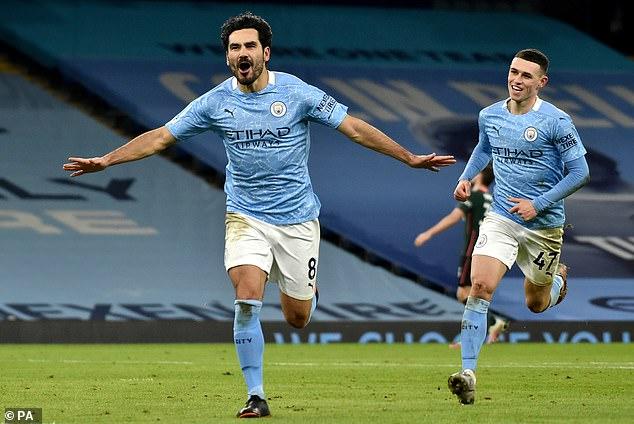 Midfielder Ilkay Gundogan - City's leading goalscorer - has been truly excellent all season