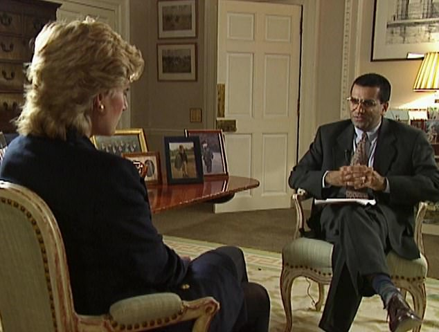 Bashir infamously interviewed Princess Diana in a bombshell 1995 sit-down, her first and only television sit-down